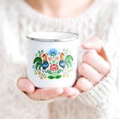 Rooster Mug in White [Related products]
